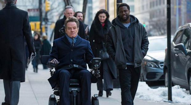 Odd couple: Bryan Cranston and Kevin Hart in The Upside