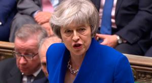 Political disaster: Theresa May's attempt to get the House of Commons to accept her Brexit withdrawal agreement failed miserably