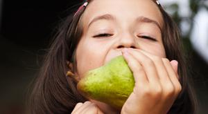 Juicy fruit: a pear is a healthy way to satisfy a sweet tooth
