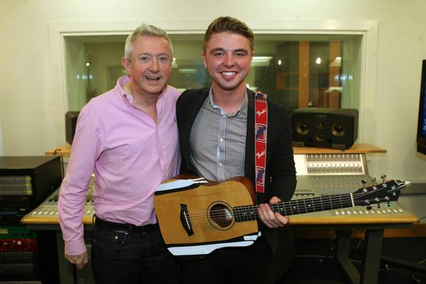 Jordan with Louis Walsh