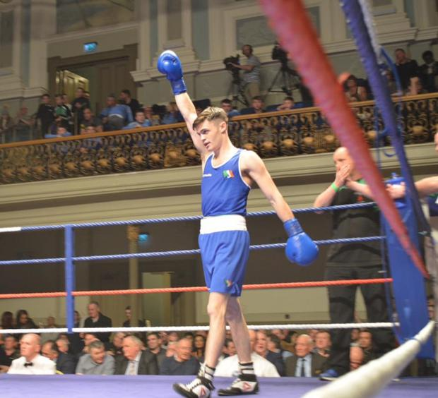 Fighting fit: Belfast boxer James McGivern