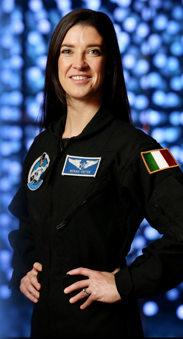 High hopes: Dr Norah Patten could be the first Irish person in space and is preparing for the trip