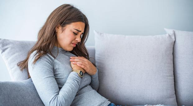 In pain: heartburn is irritating
