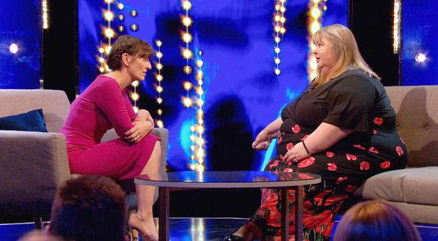 Tracey chats to Davina McCall on ITV's This Time Next Year