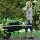 Outdoor life: Averil Milligan, head gardener at the National Trust's Rowallane property