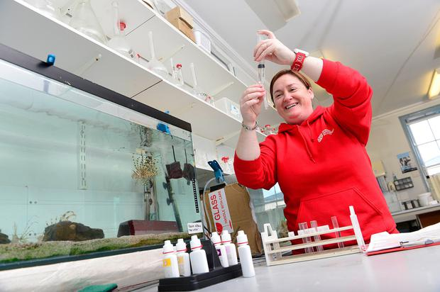 Monica McCard from Lisburn went back to university to study for her dream career as a marine biologist