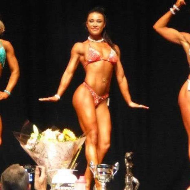 Nicole in competition