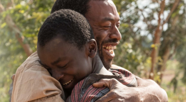 Authentic voice: Chiwetel Ejiofor with Maxwell Simba in The Boy Who Harnessed the Wind