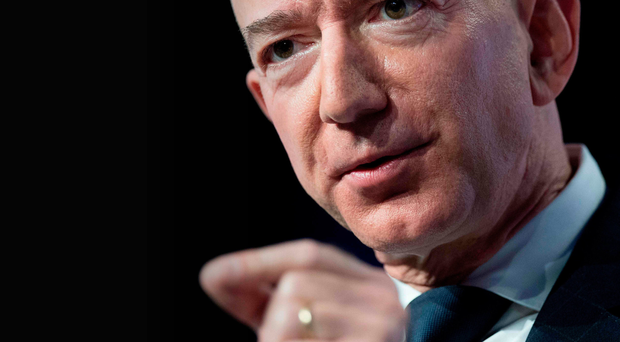 Rocketing ambitions: Jeff Bezos