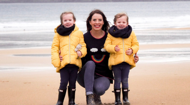 Anna with her daughters Bella and Annie