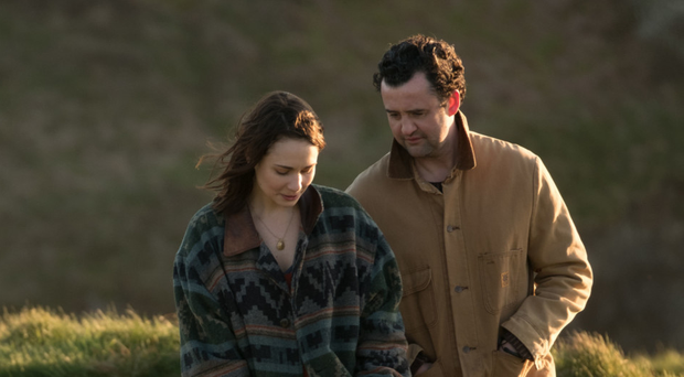 Touching tale: Daniel Mays with Tuppence Middleton in Fisherman's Friends