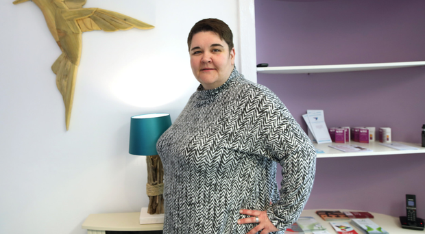 Here to help: Jill Huston is service operations lead at the Hummingbird Project