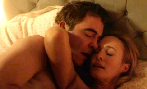 Big controversy: James Nesbitt as Colin Howell and Genevieve O'Reilly as Hazel Stewart in The Secret