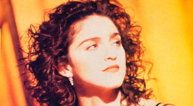 Career high point: Madonna in 1989