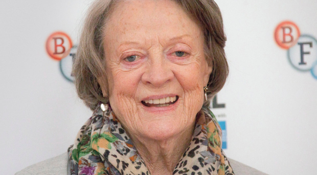 Leading lady: Dame Maggie Smith