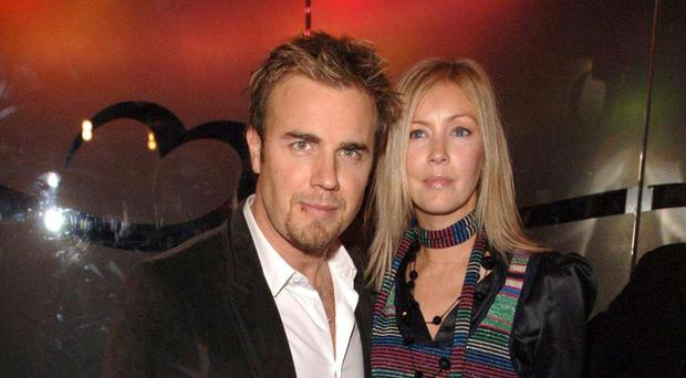 Gary with his wife, Dawn
