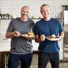 Brunch brothers: Simon Rimmer and co-presenter Tim Lovejoy