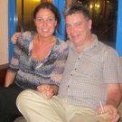 Journalist John Laverty and his wife Claire McNeilly