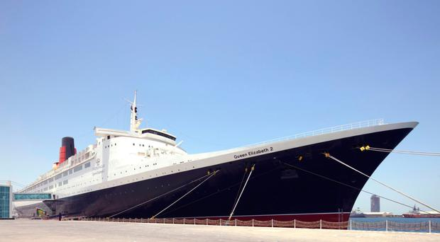 Ship ahoy: the QE2 today