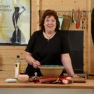 Food passion: celebrity chef Paula McIntyre at her home in Portstewart
