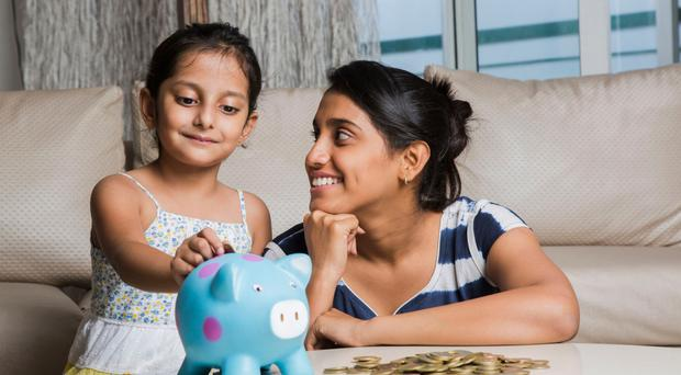 Good habits: saving little and often is one way to help avoid debt