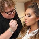 Stunning style: Paddy McGurgan with Love Island star Jessica Shears