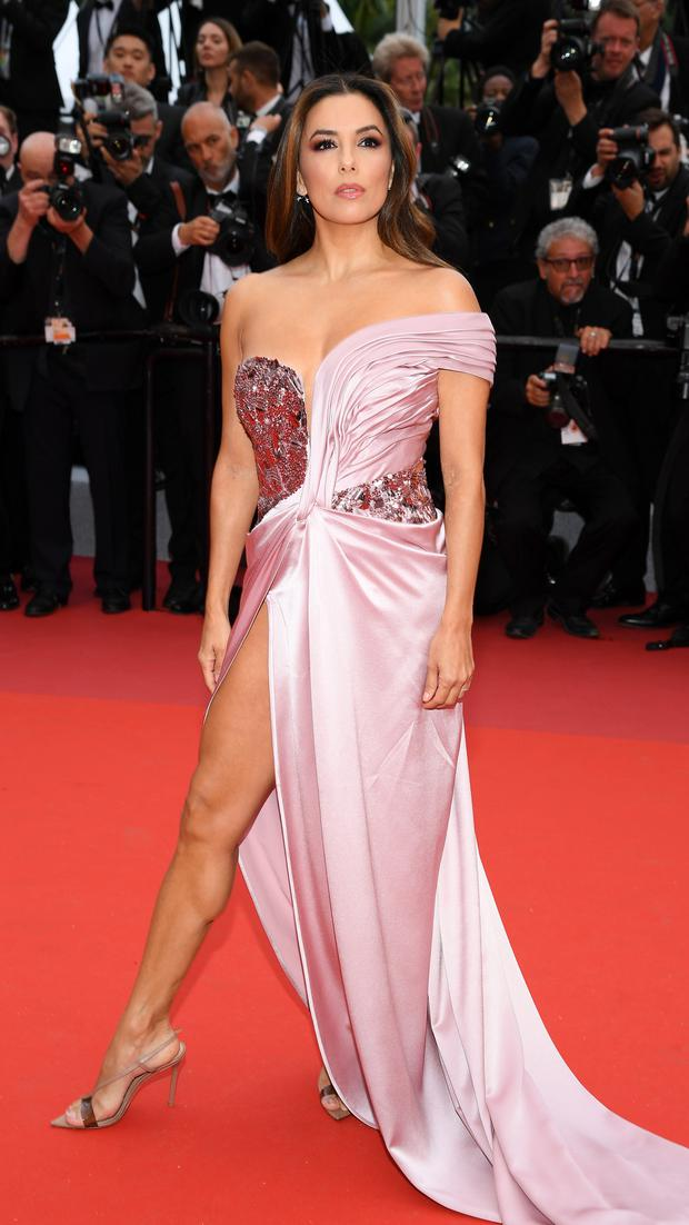 Looking glamorous this week at the Cannes Festival was Eva Longoria