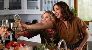 Fine bouquet: Amy Poehler with Maya Rudolph in Wine Country