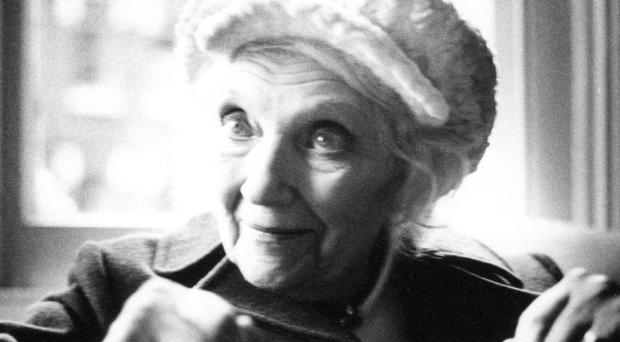 Author Jean Rhys. Photo credit: Teresa Chilton.