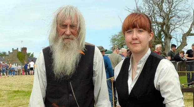 Family trade: Danna Herron with her late father David