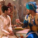 Magical role: Will Smith (right) with Mena Massoud in Aladdin