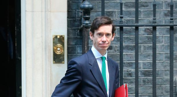 Rory leaving Downing Street