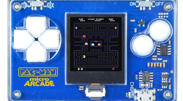 Original favourites: handheld Pac-Man