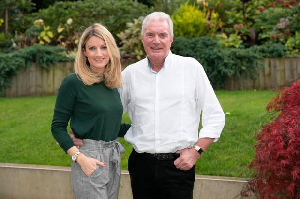 Jessica Dornan and her father Jim