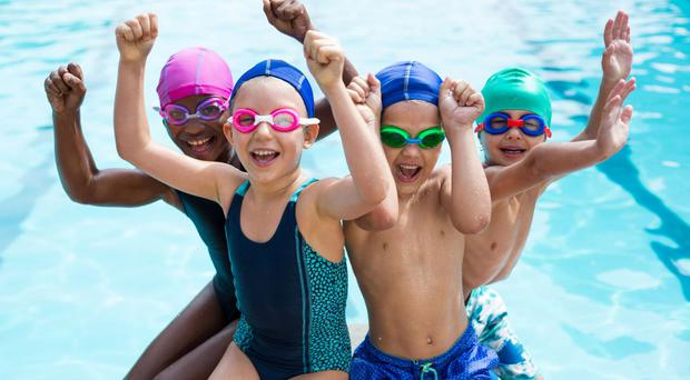 Big splash: lessons can help kids grow confident in water