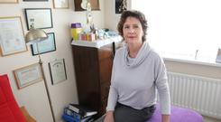 Different approach: Roisin Armstrong in her natural health practice in Holywood