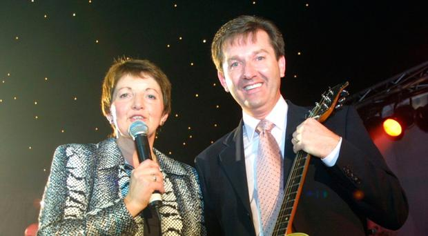 Super siblings: Margo and Daniel O'Donnell