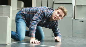 Matt Forsythe rehearses at the Lyric for A Night in November