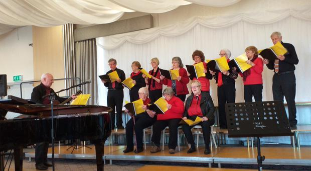 U3A members take part in a wide range of activities including singing, lectures and even canoeing