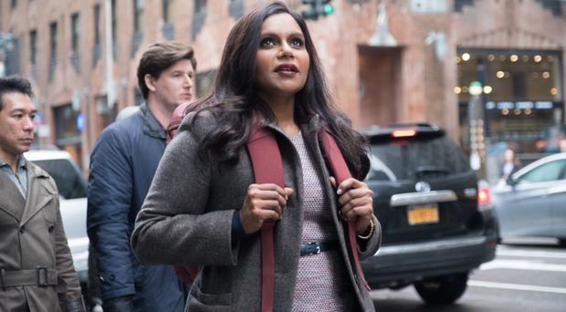 Making strides: Mindy Kaling as Molly Patel