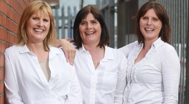 Good team: sisters Jenny Lowry, Cathy Johnston and Dorothy Bittles, who run Melting Pot