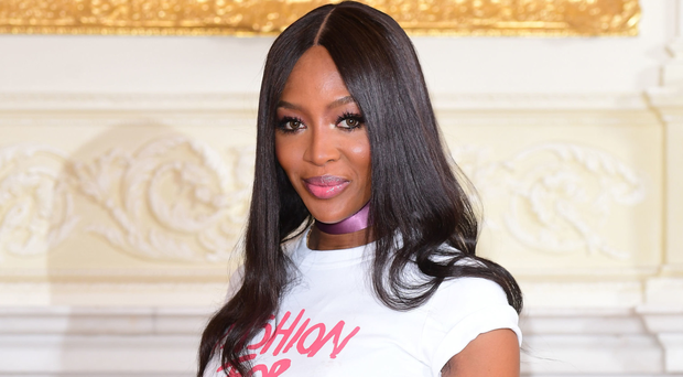 Superstar appeal: Naomi Campbell at the Ritz Hotel in London