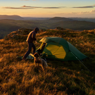 Unbeatable view: quality kit helps make for a good camping trip