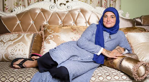 New chapter: Sinead O'Connor relaxes at home