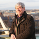TV giant: Joe Mahon in his native Londonderry