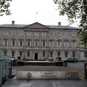 Fears: the Republic's parliament at Leinster House would have to tackle many concerns before unionists would even consider a border poll