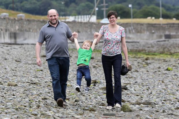 The McCartney family enjoying some time together at their new home in Warrenpoint