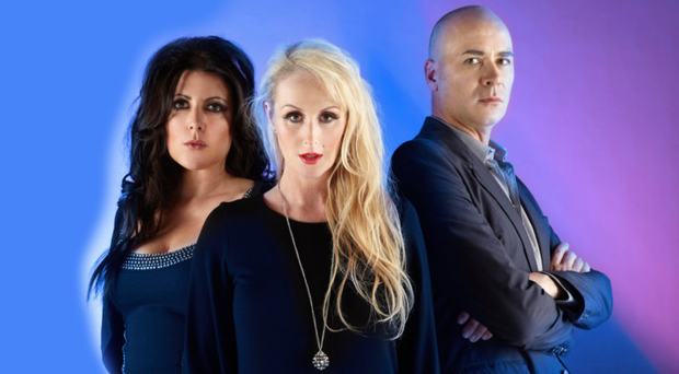 Eighties revival: Joanne Catherall, Susan Ann Sulley and Philip Oakey of The Human League
