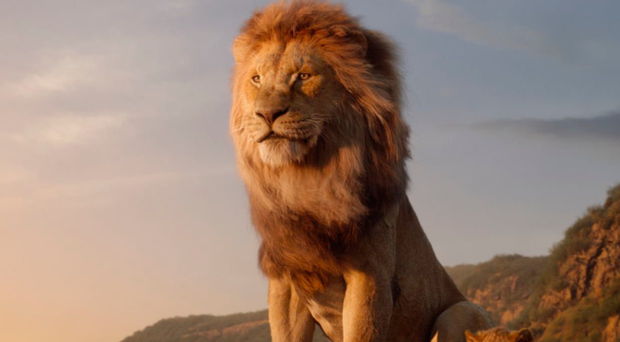 Roaring success: Mufasa (voiced by James Earl Jones) and the young Simba (JD McCrary)