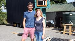 Michael Rauch and Alex Connolly are building their own 'tiny home'